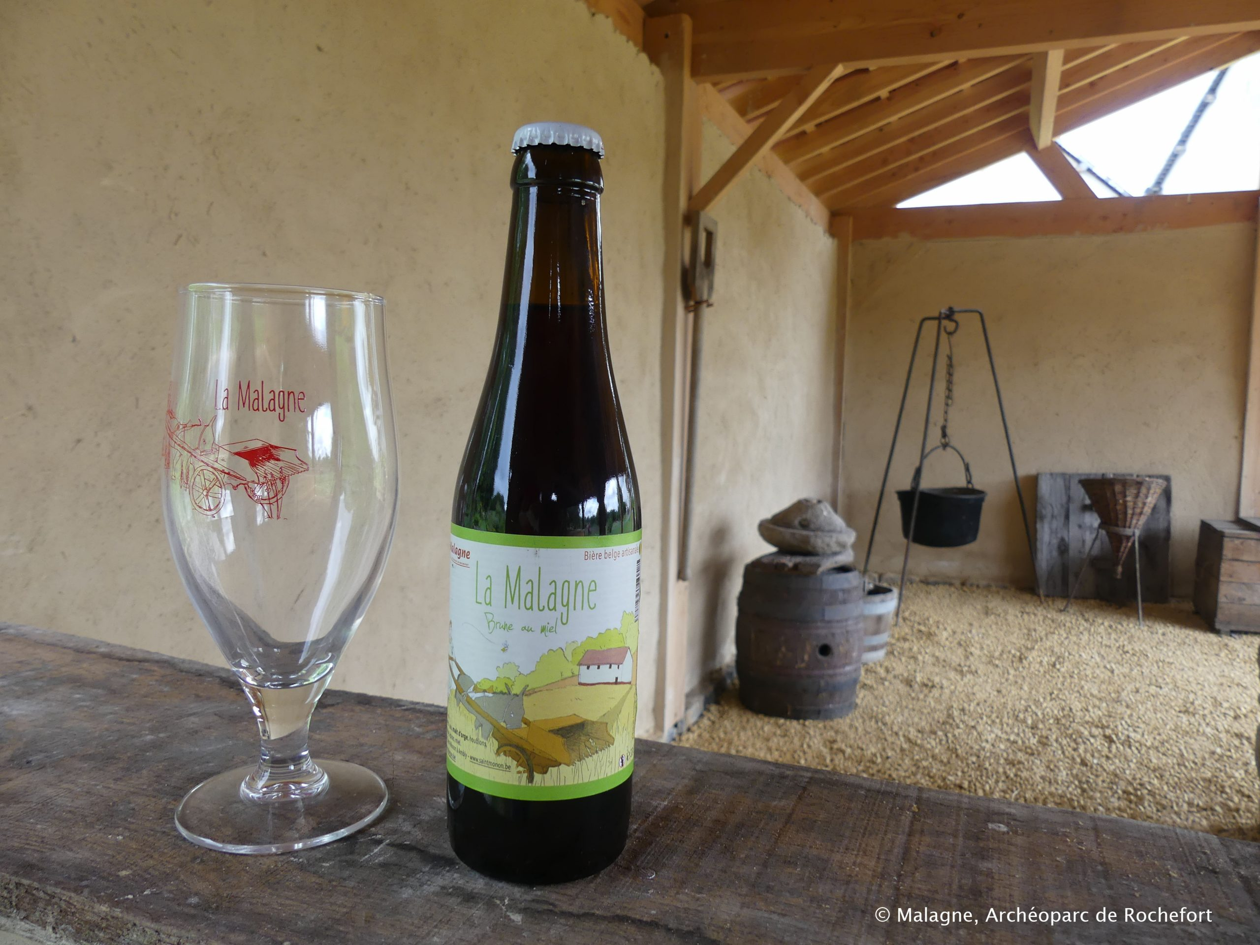 Bière Malagne et brasserie